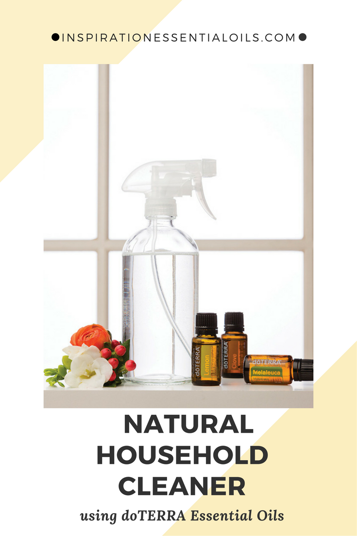 All natural household cleaner using essential oils