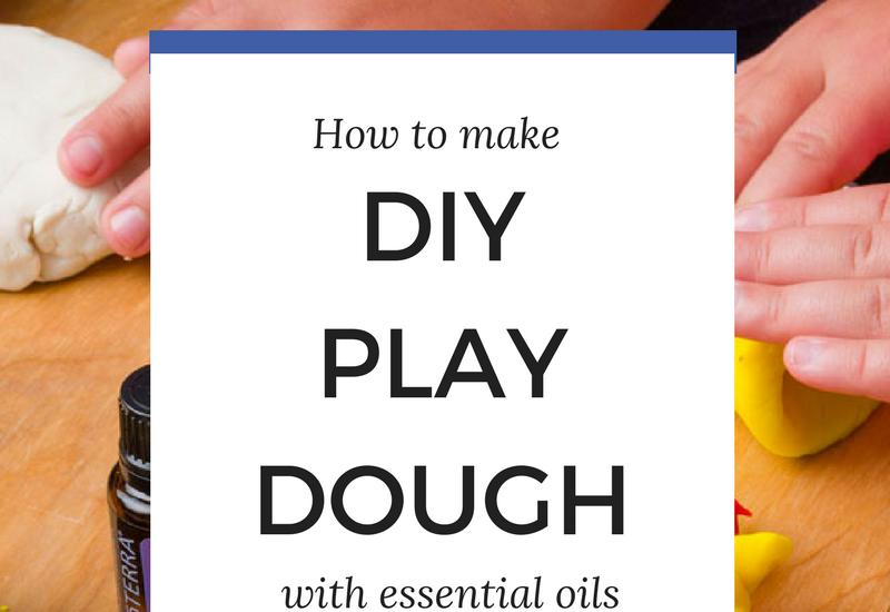 DIY Play dough with essential oils