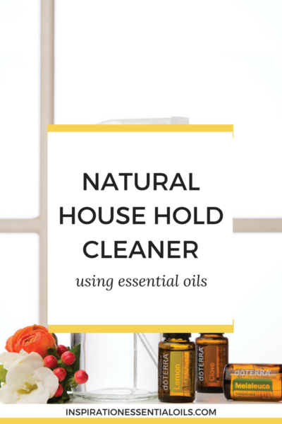Natural house hold cleaner with essential oils