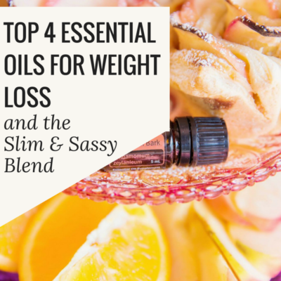 Top 4 Essential Oils for Weight Loss
